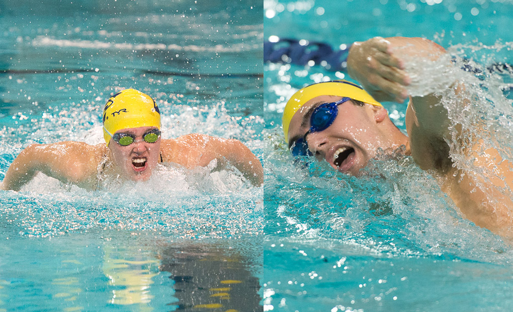 Emory Swimming & Diving Close Out Calendar Year with Denison and SCAD Invites