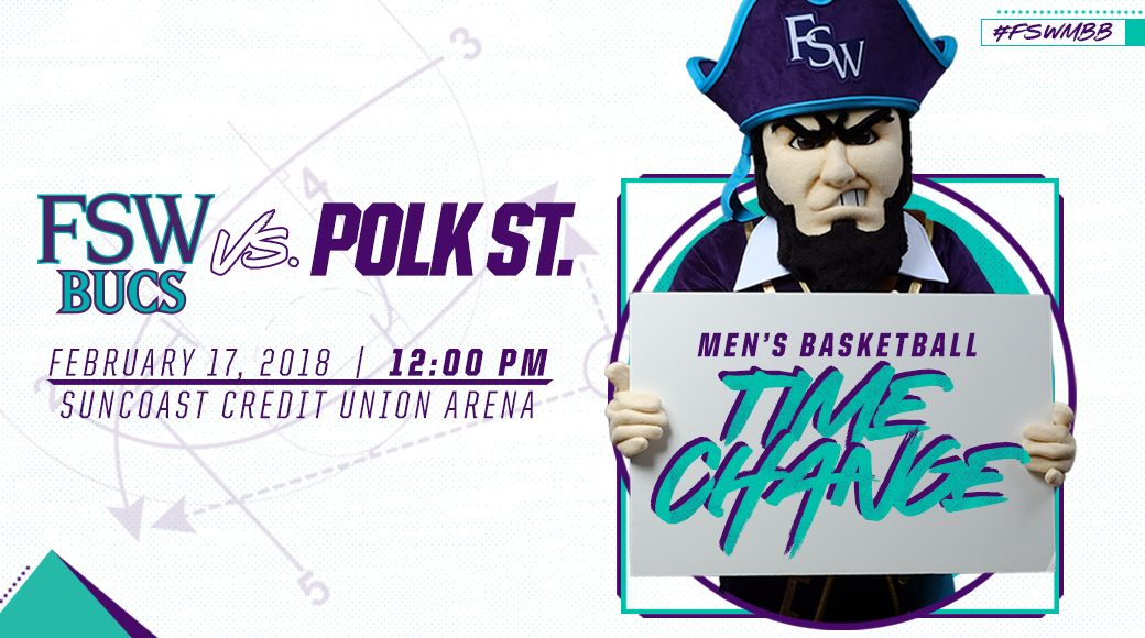 Time Change For Feb. 17 #FSWMBB Game