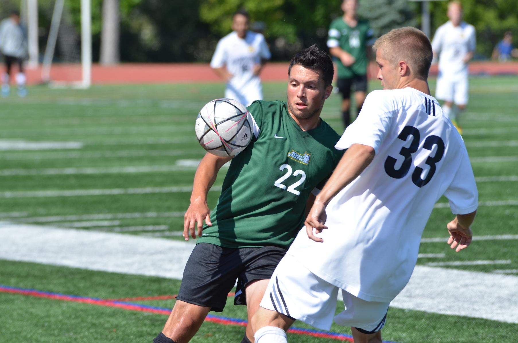Men's Soccer Draws with Wilson College