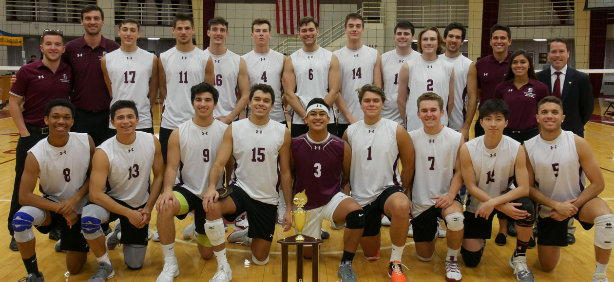 Men's Volleyball Wins International Volleyball Hall of Fame Morgan Classic