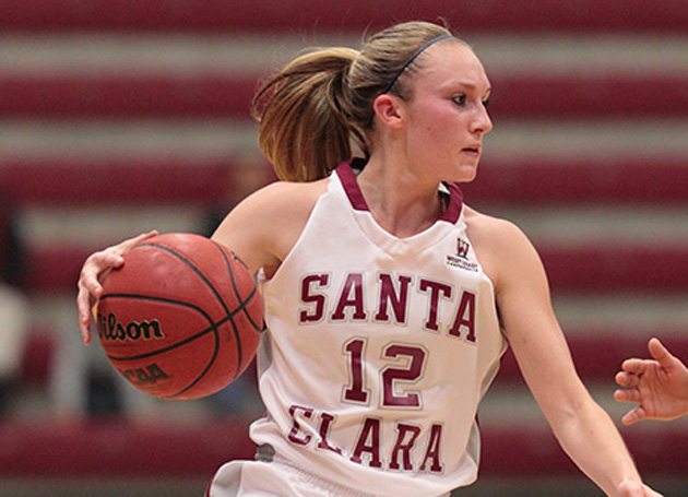 Road Games in Berkeley and Seattle Next for Santa Clara Women