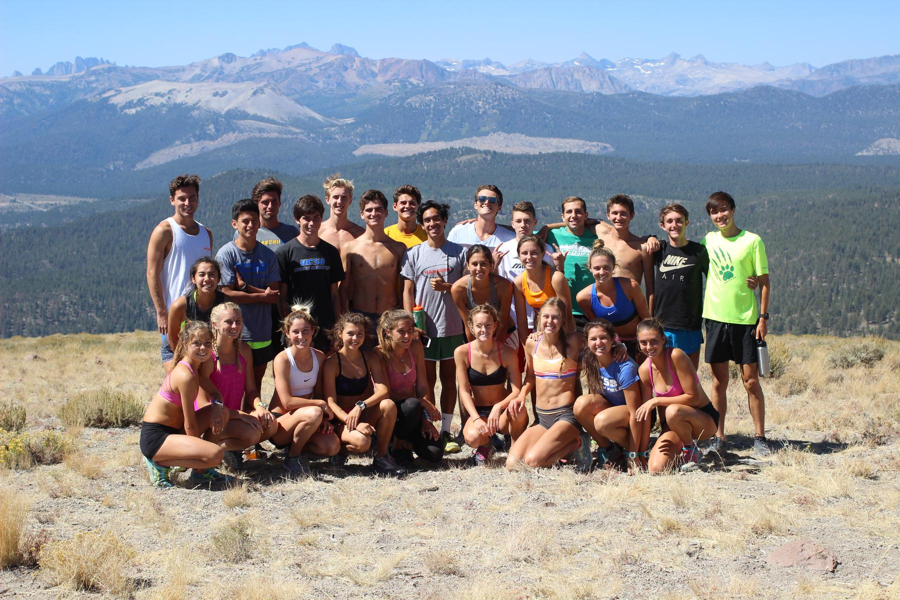 UCSB Cross Country Returns from Mammoth Ready for UCR Invite