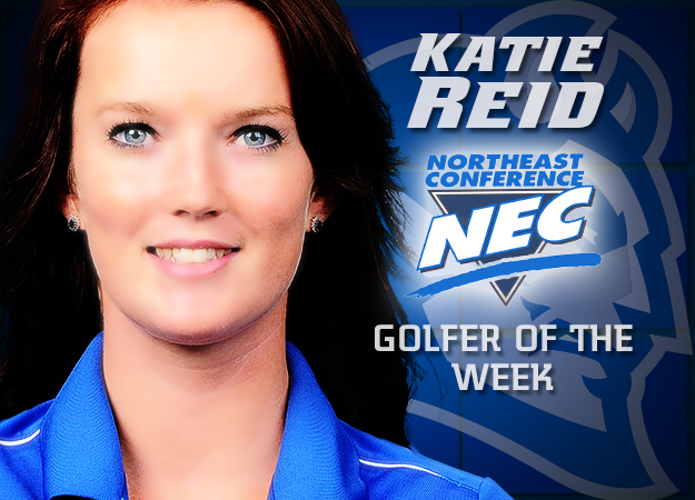 Katie Reid Earns NEC Golfer of the Week