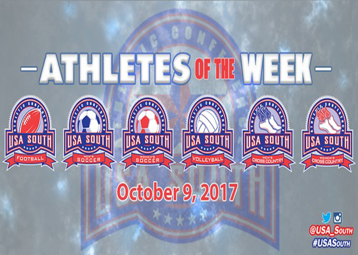 Young and Tarver named USA South Athletes of the Week