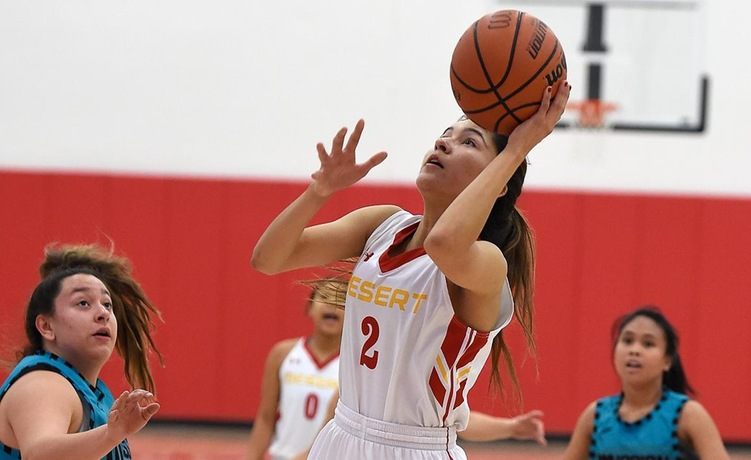 COD Women's Basketball defeated by Eagles, 115-37