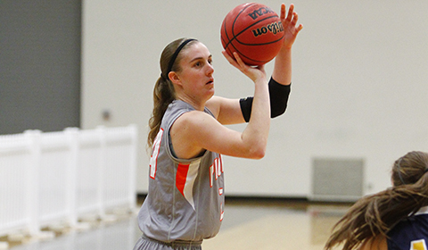 #6 Women's Basketball Scores Program High in 94-56 Win Over Northwest