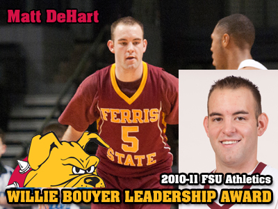 Bouyer Leadership Awarded To Matt DeHart