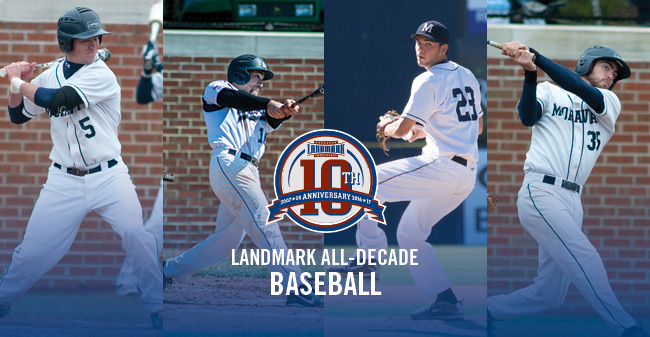 Four Greyhounds Named to Landmark Conference Baseball All-Decade Team