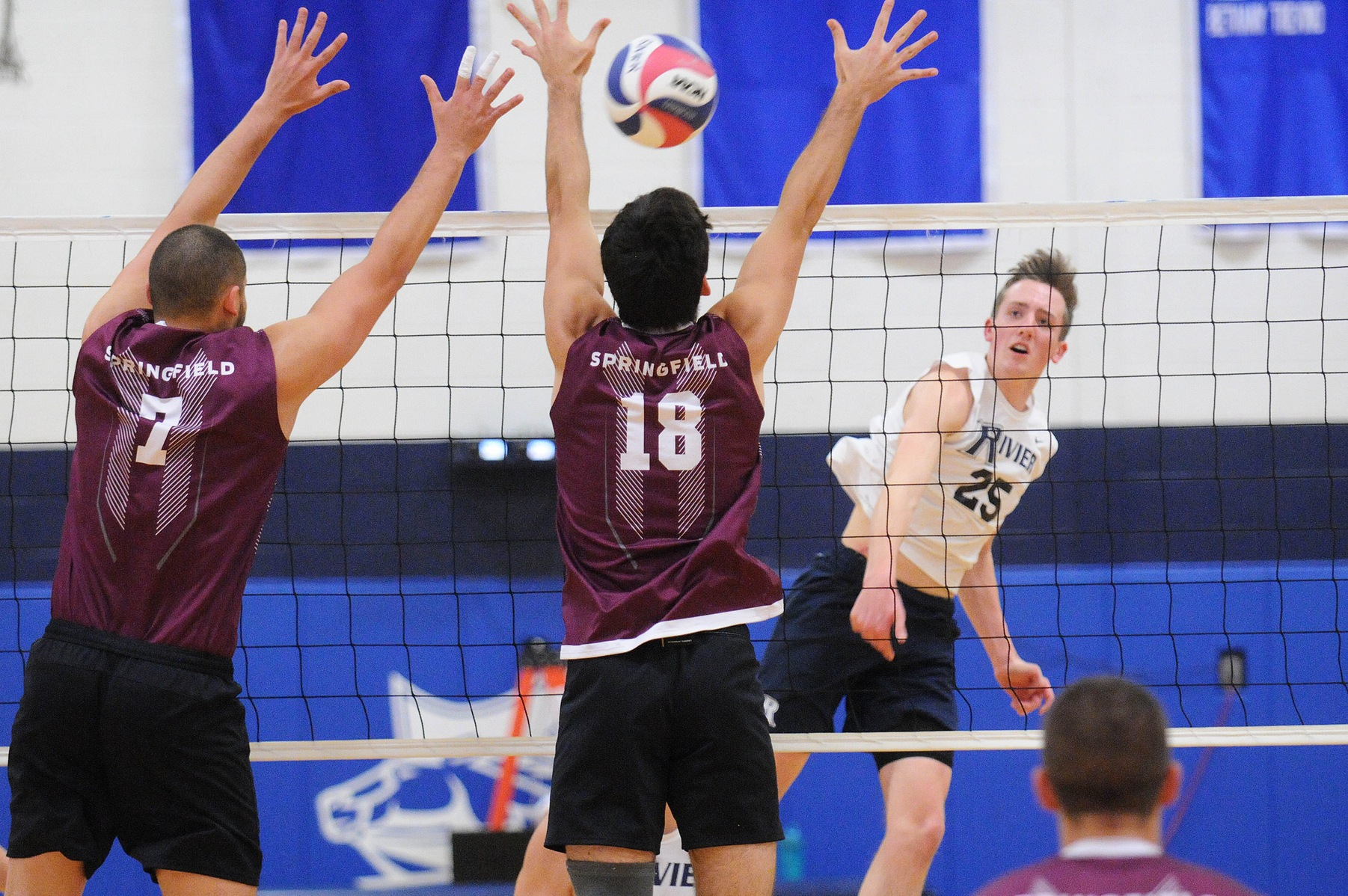 Men's Volleyball: Rivier swept at home by #1 Springfield