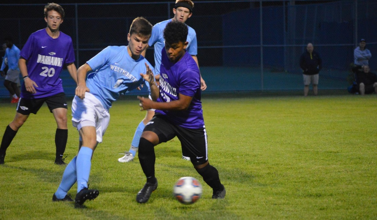 Westminster Men's Soccer Picks Up Point in Spalding Tie