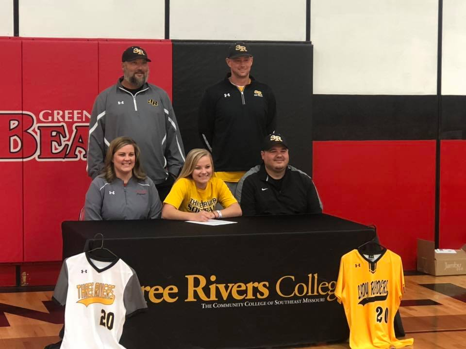 Greenville's O'Dell signs with Lady Raiders Softball