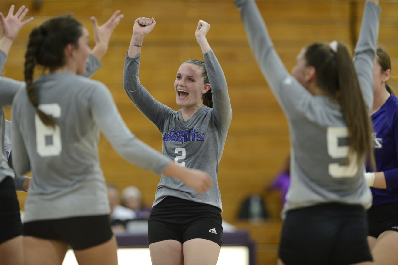UB Women's Volleyball Sweeps Assumption On Friday Night In Hubbell Gym