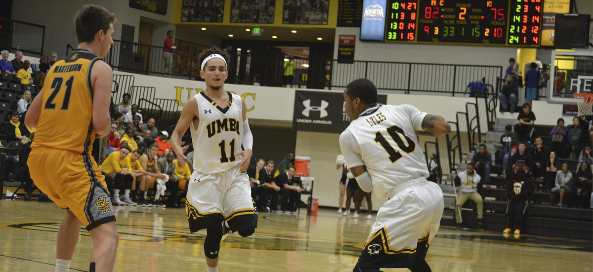 Retrievers Fall to UNH in Regular Season Finale, 94-90 in a 2OT Thriller on Saturday