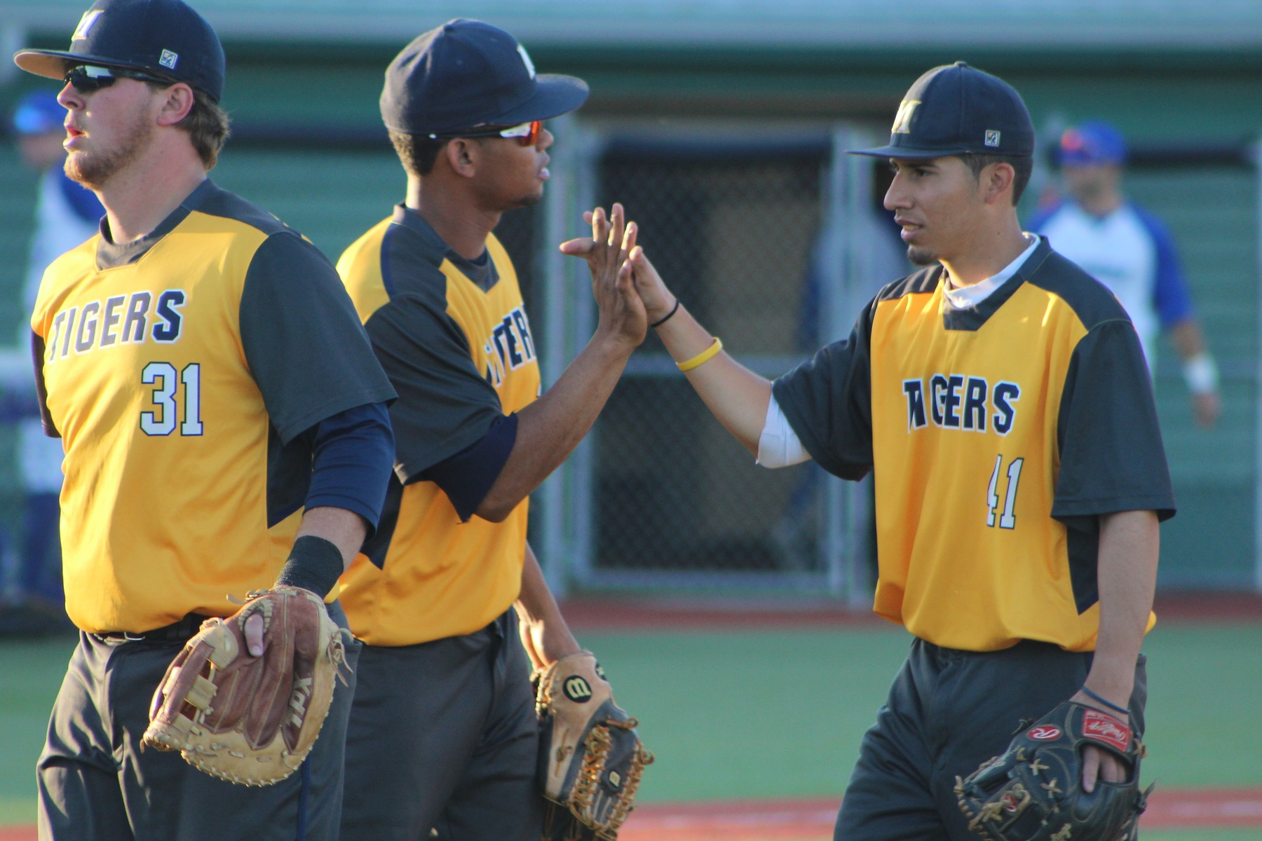 Diogen Ceballos and Snayder Ruiz combined to drive in five runs in the game two win for the Tigers