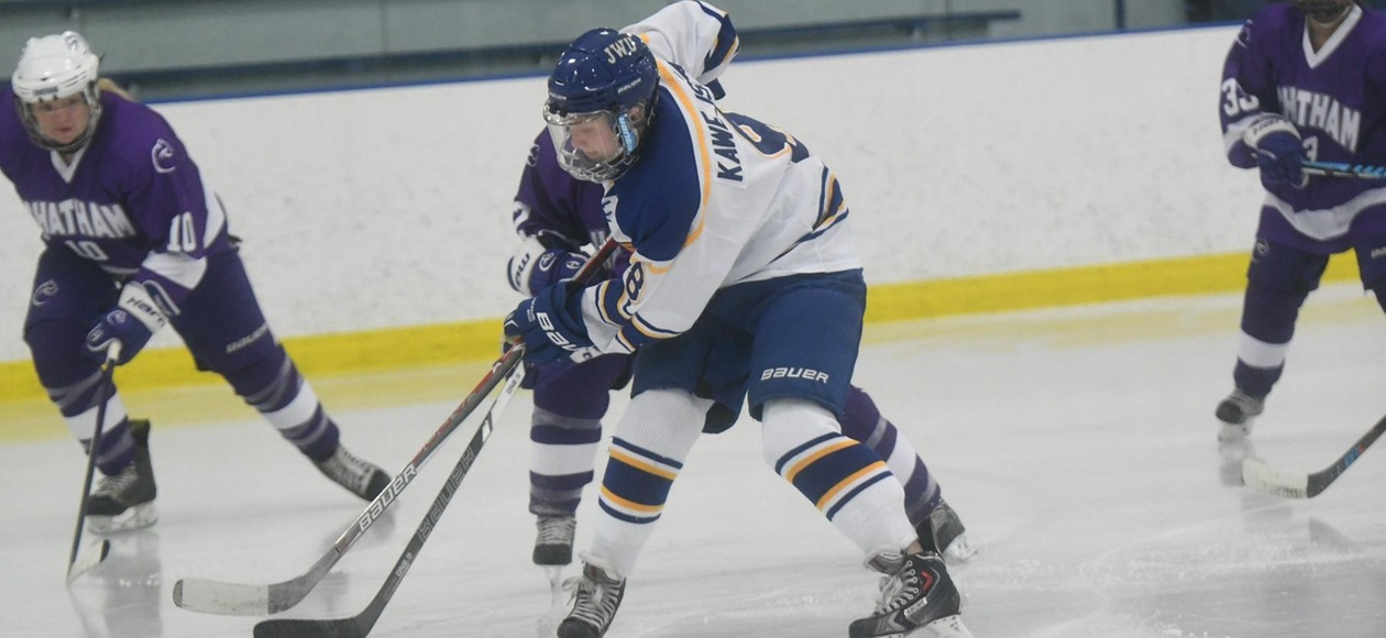 Women's Ice Hockey Tripped Up by USM 2-1