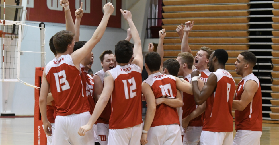 Men's Volleyball Battles North Central