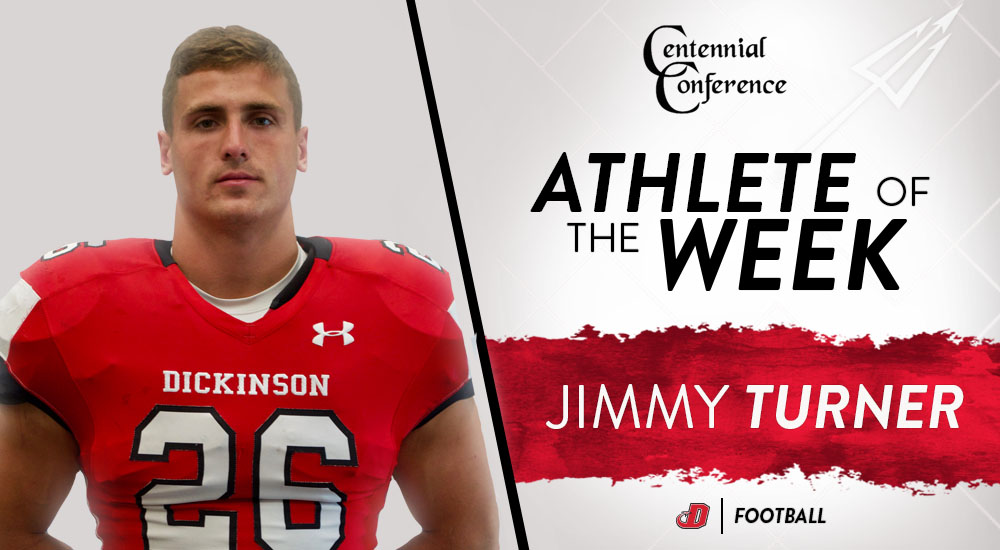 Turner Named CC Football Defensive Player of the Week