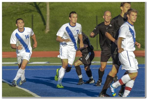 Mount men's soccer team drops road game at Wittenberg University, 3-0