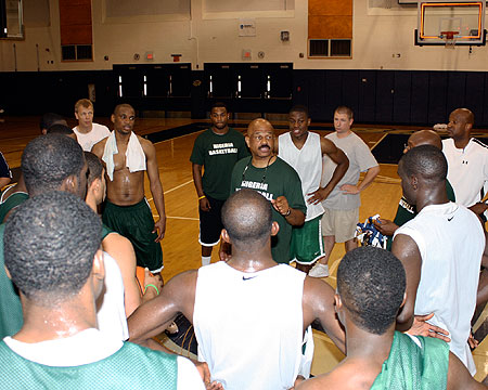 Nigeria men's and women's national basketball teams tune-up for upcoming championships at Gallaudet University