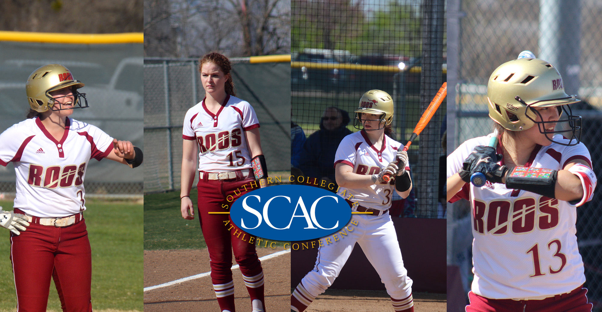 Four From 'Roo Softball Named All-SCAC