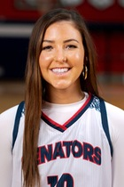 Blayre Shultz, Sophomore Guard, Walters State, TCCAA Women's Basketball Player of the Week 2/15