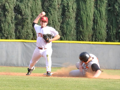Baseball Sweeps Caltech