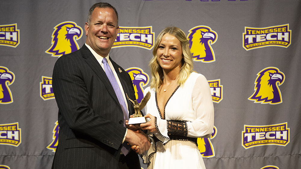 Tennessee Tech student-athletes, coaches honored at third annual Golden Wings Awards