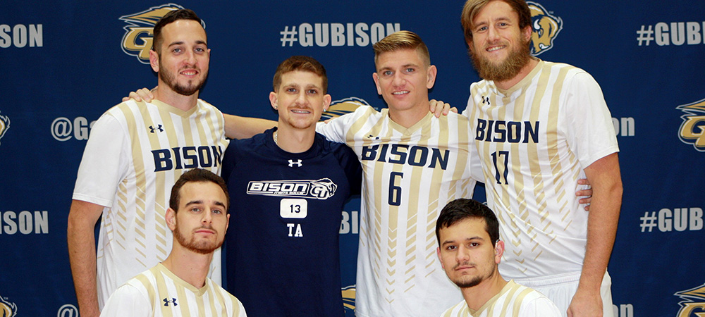 Gallaudet men's soccer senior class