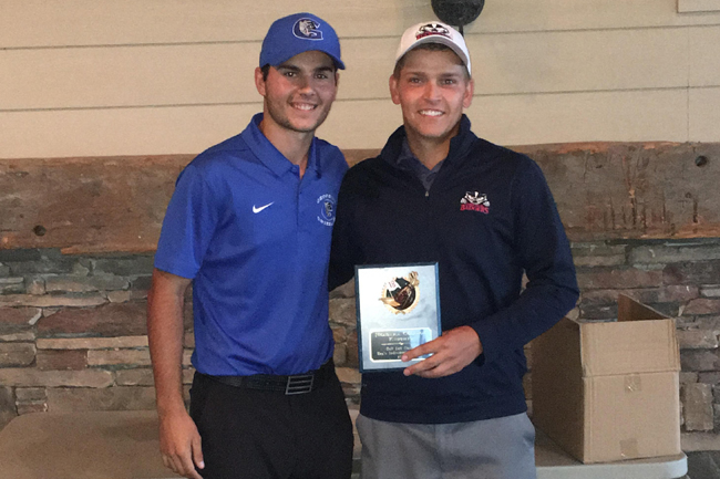 SZENT-IVANY TIES FOR FIRST WHILE PORT HITS HOLE-IN-ONE