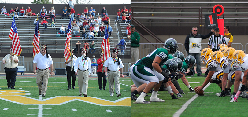 Football Hosts Wilmington in 38th Annual Lee Tressel Shrine Classic