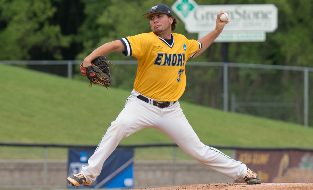Jackson Weeg Records 300th Strikeout as Rowan Tops Emory Baseball in NCAA Opener