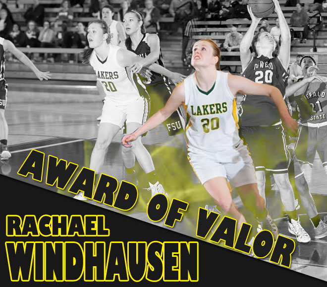 SUNYAC Honors Rachael Windhausen with Award of Valor