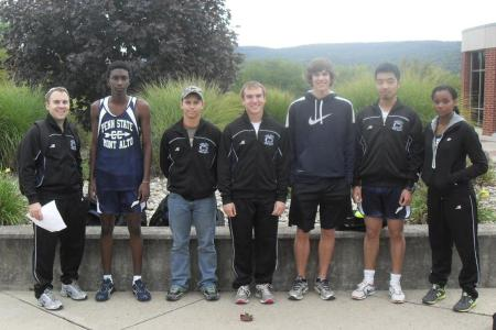 Cross Country competes at Wilkes-Barre