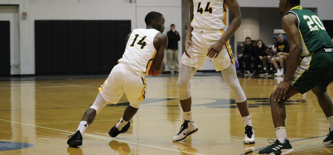 Curry Leads Men's Basketball Over Shawnee St. in Don Callon Classic