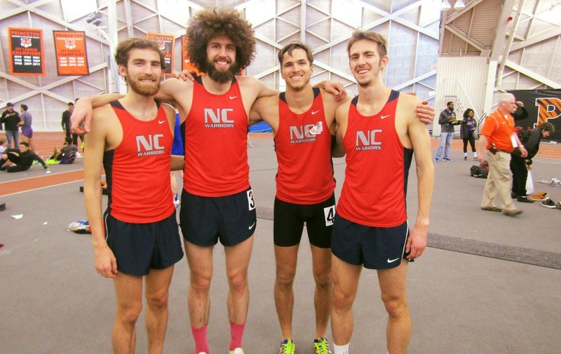 Men's Track Wins 4by8 at Princeton Indoor Invitational