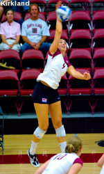 SCU Volleyball Falls In Three To No. 7 Stanford