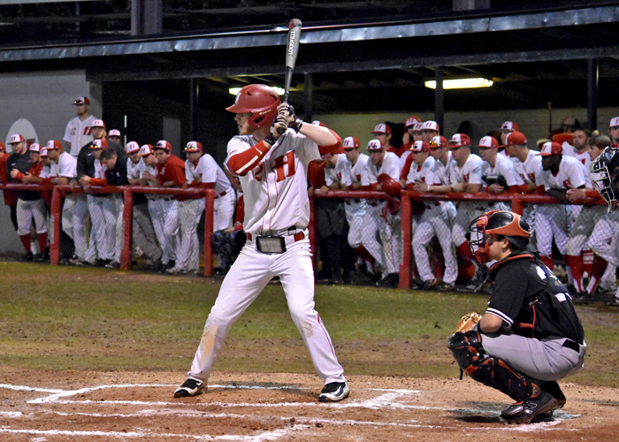 Will Cosby was 3-for-5 with two RBIs, two doubles and a run in Friday night's loss to Rhodes.
