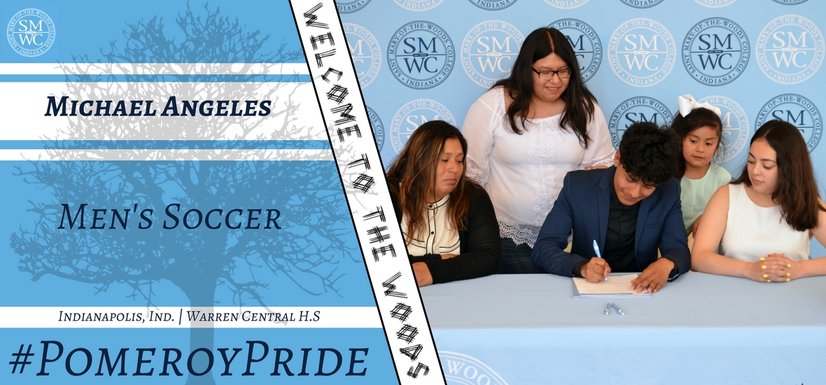 Men's Soccer Inks Michael Angeles
