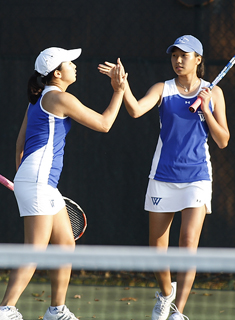 Wellesley Tennis Finishes Fourth at Nor'Easter Bowl