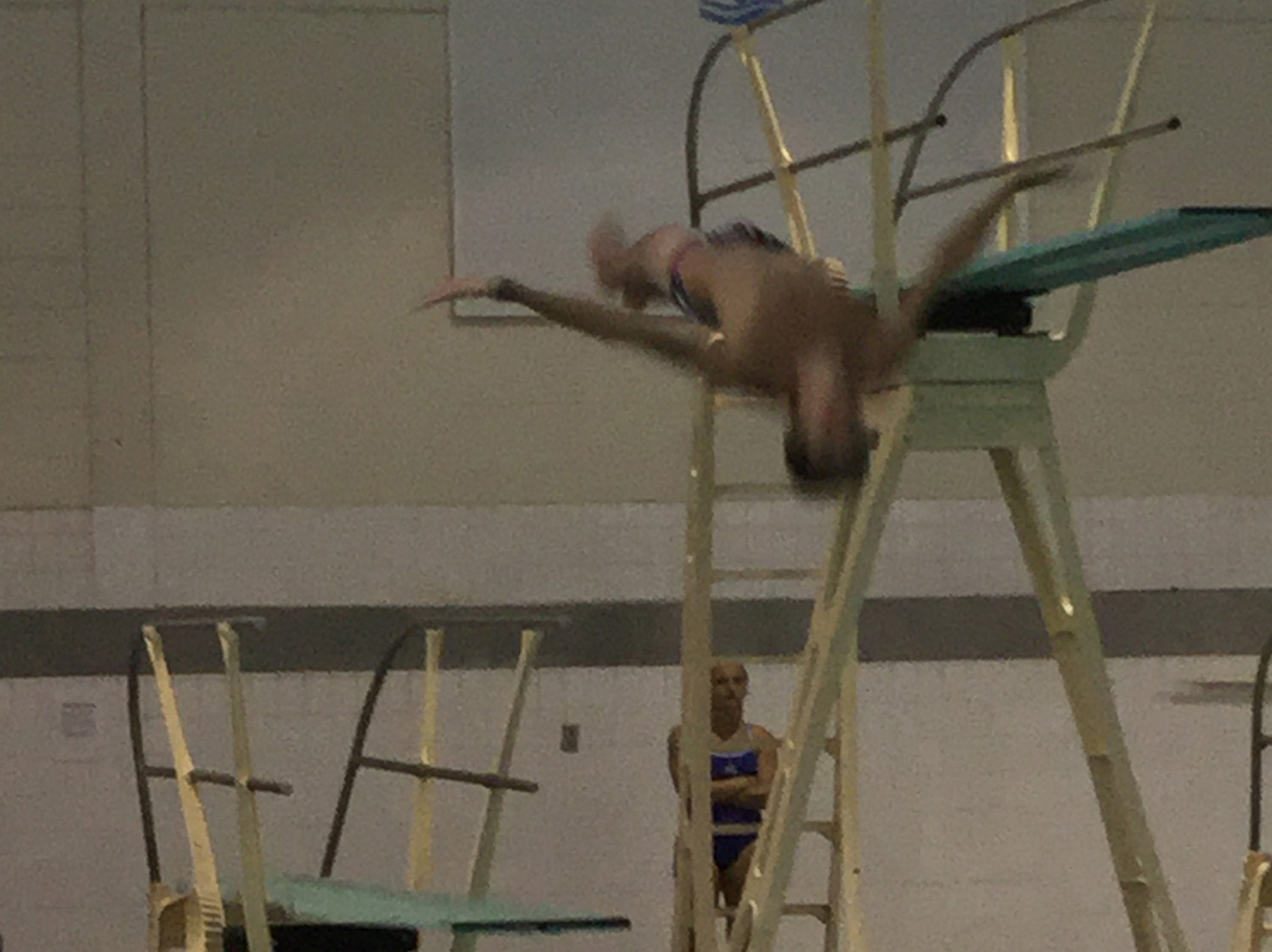 Divers Compete at Ithaca