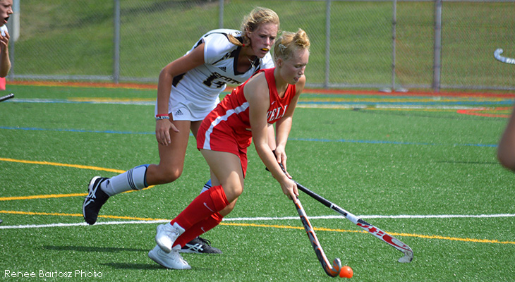 Wells Field Hockey Upended By Oswego State