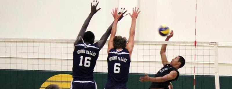 Men's volleyball team lets one get away at Golden West