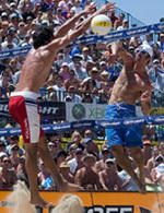 Rogers Continues Beach Success, Wins Manhattan Open