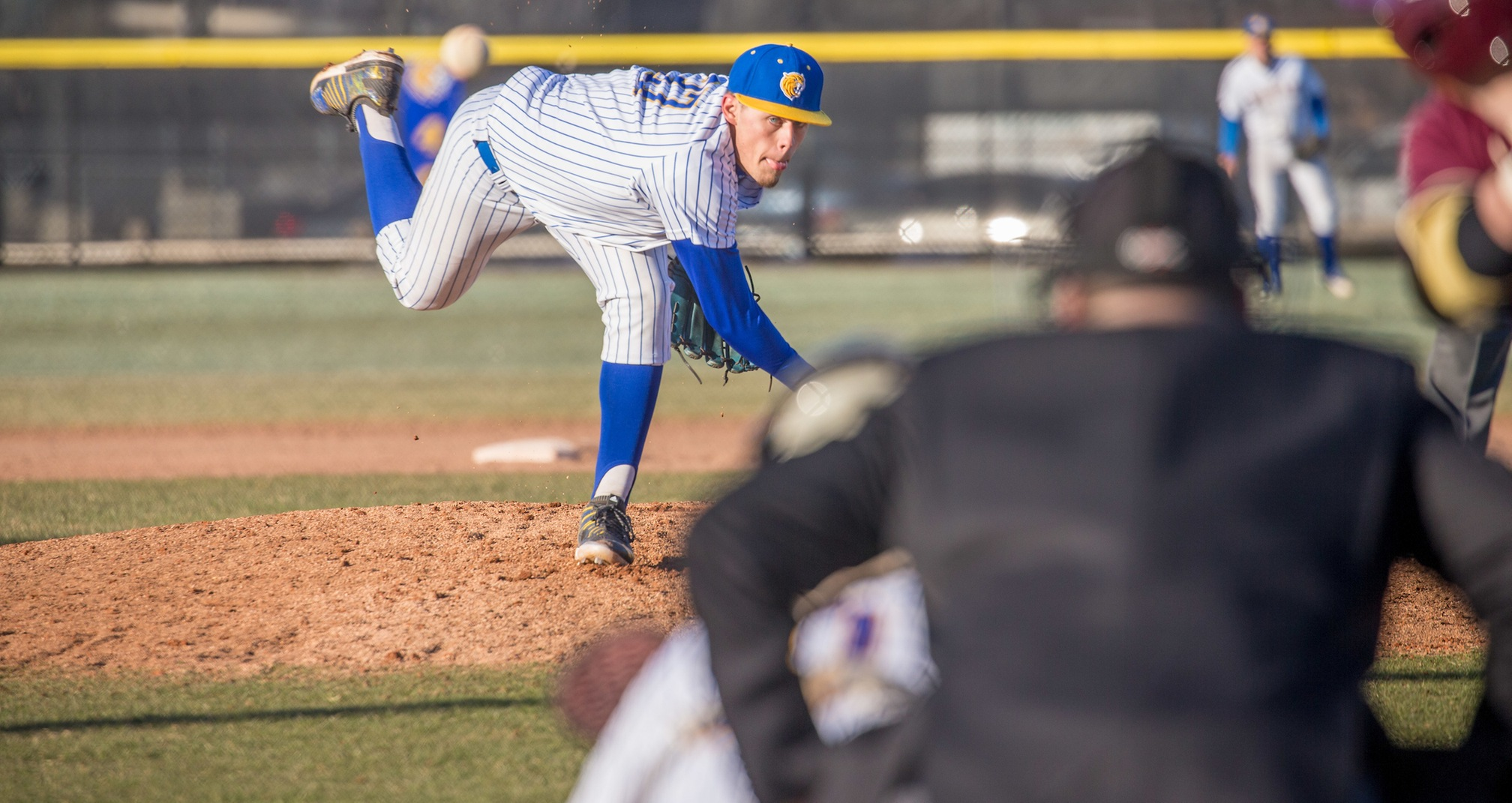 Baseball Splits on the Road at Lasell