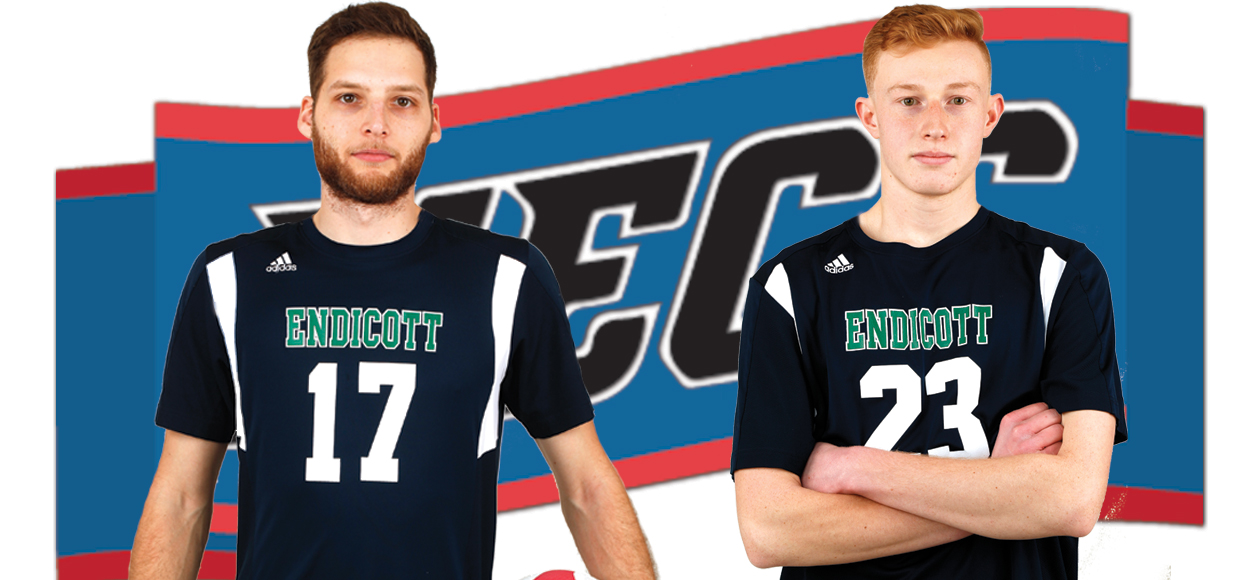 Daniel Toth, Bryn Lipton Sweep NECC Men's Volleyball Weekly Awards