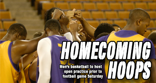 Men's basketball welcomes fans to open practice Saturday