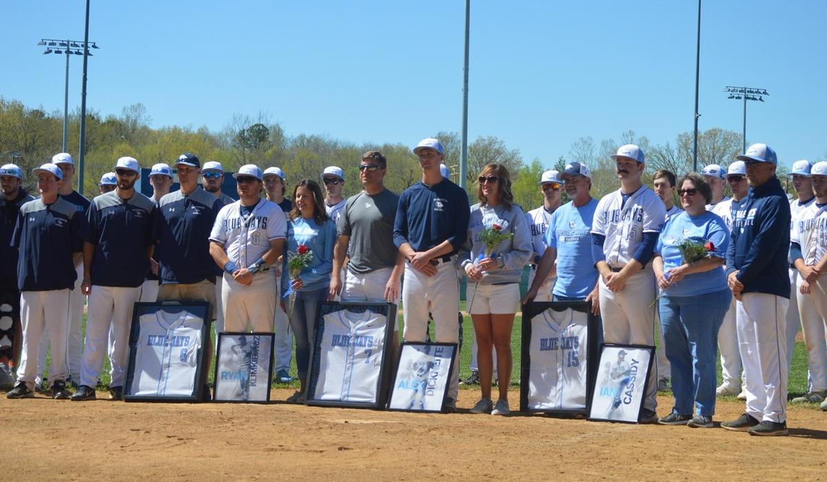 Westminster Baseball Walks Off on Senior Day