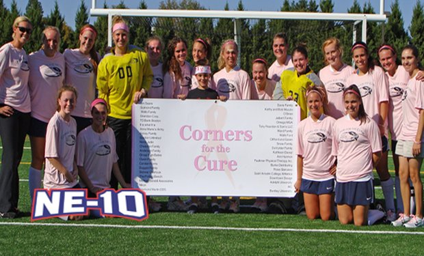 "Student-Athletes Spotlight: Saint Anselm Field Hockey Raises over $10,000 with ""Corners for the Cure"""