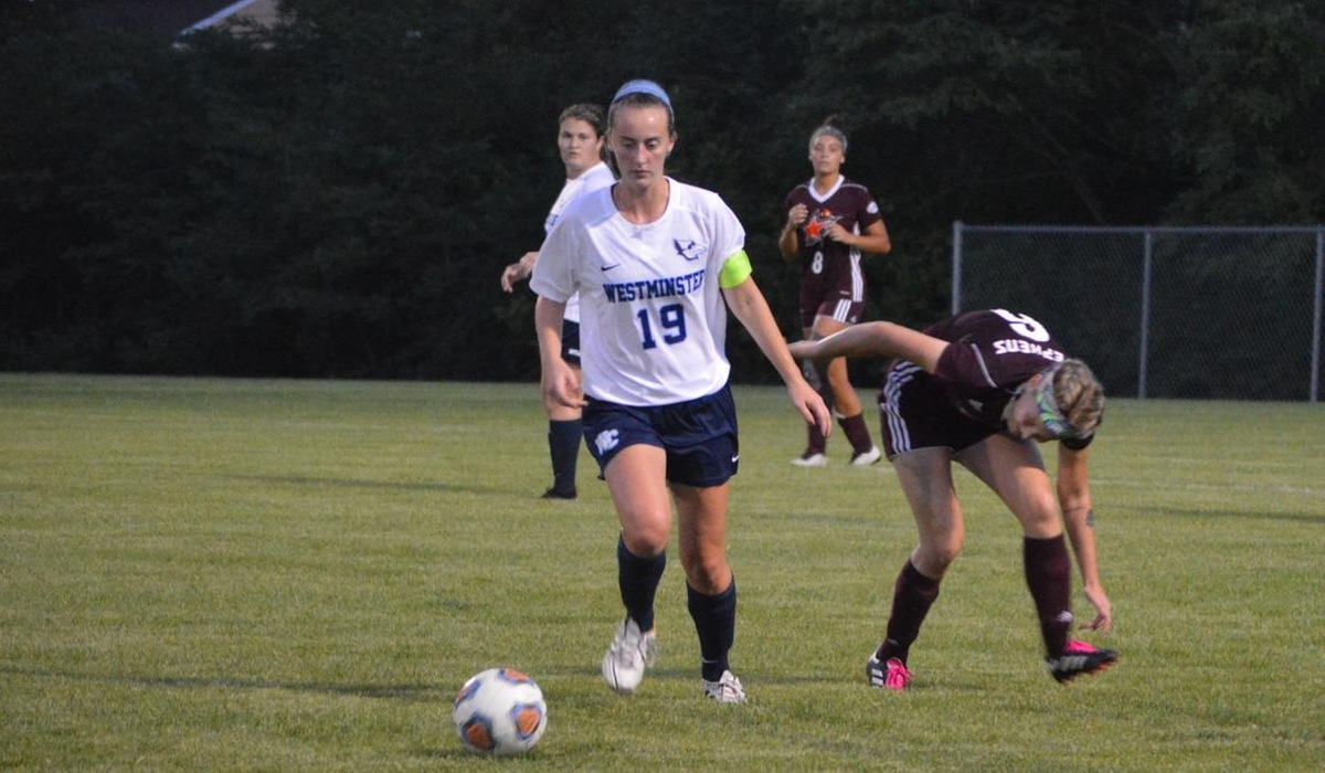 Westminster Women's Soccer Overcomes Big Blue