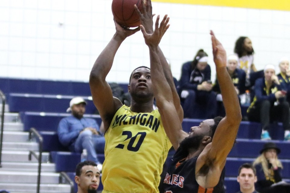 Photo for Wolverine Men Defeat Siena Heights, extend win streak to 5